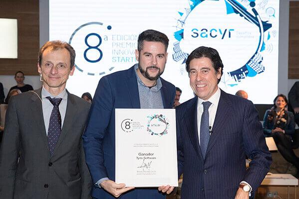 Tyris AI galardonada con el premio a la Innovación 2018 por Sacyr