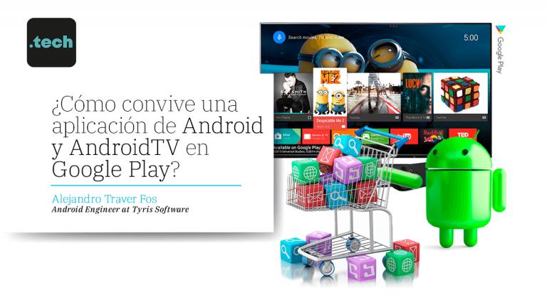 ¿Cómo convive una aplicación de Android y AndroidTV en Google Play?