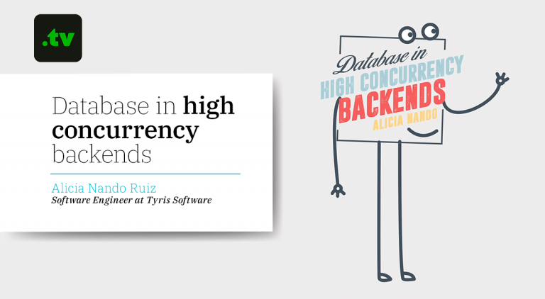 Design of databases in high concurrency backends